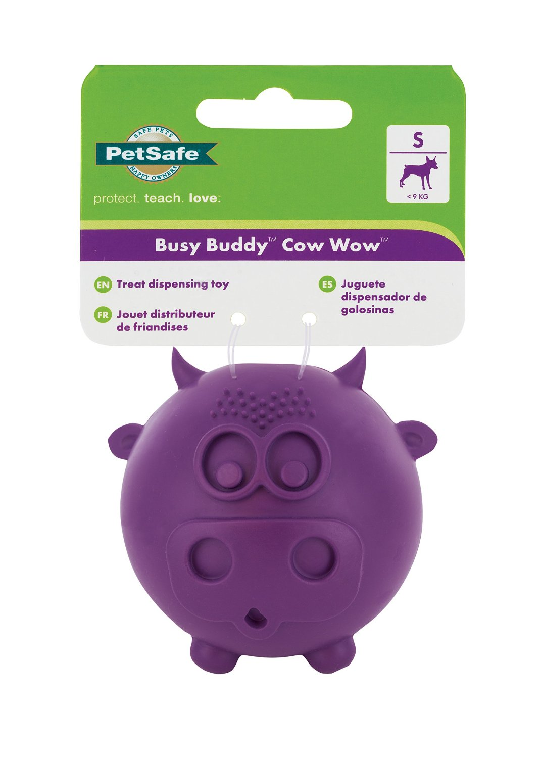 Busy Buddy® Cow Wow™ - Small Dog Toy