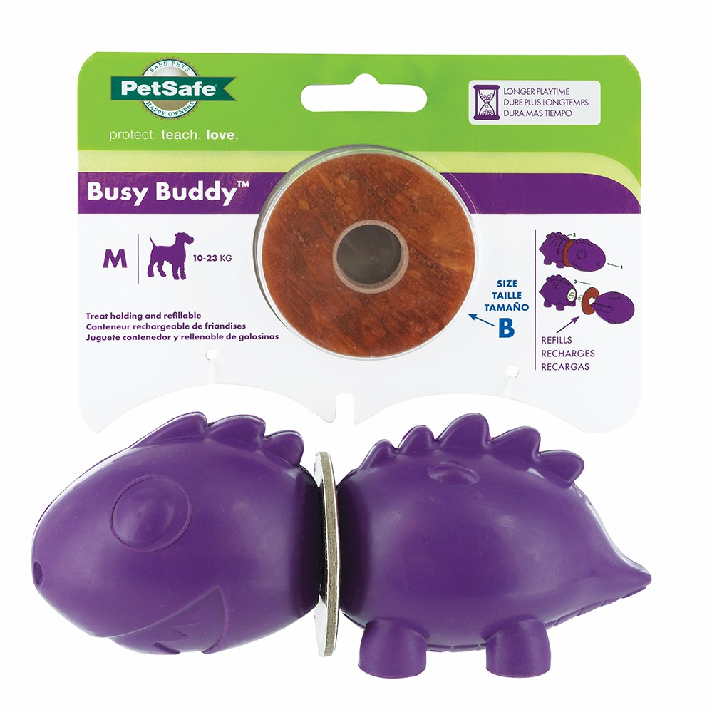 Busy Buddy® Dinosaur - Medium Dog Toy