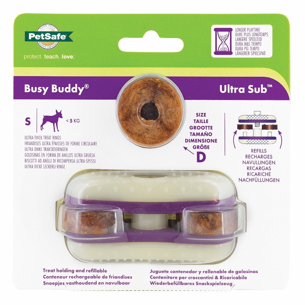 Busy Buddy® Ultra Sub™ Dog Toy - Small