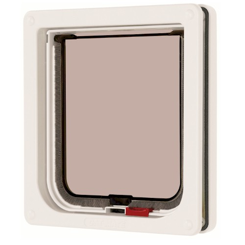 CatMate Standard Locking Cat Flap - 304 White