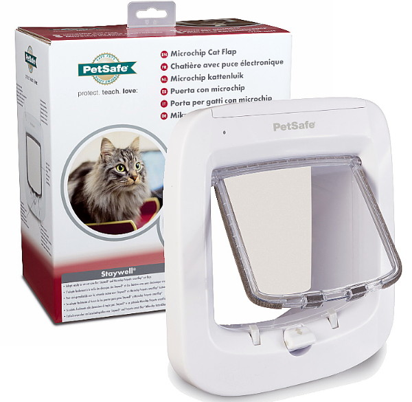Petsafe Microchip Cat Flap For Walls Upto 172mm Thick