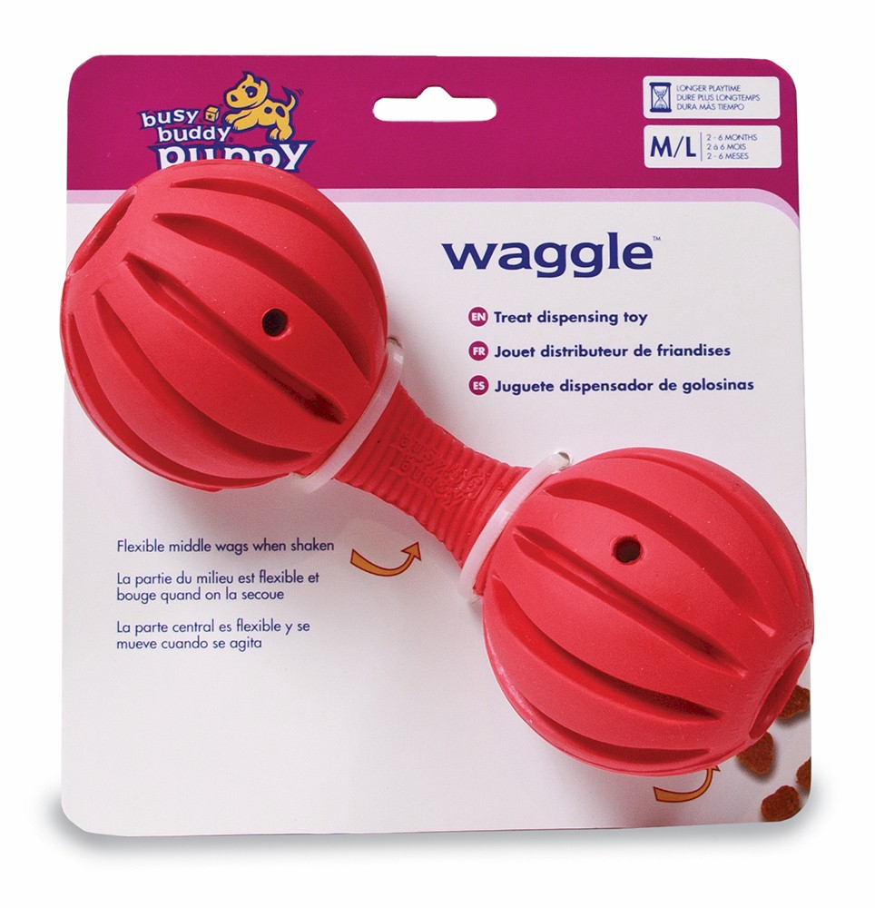Busy Buddy Puppy Waggle Medium / Large