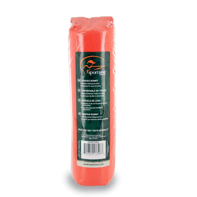 SportDog Canvas Orange Dummy