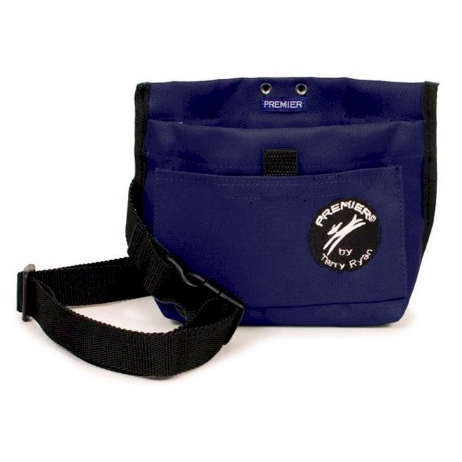 Premier Terry Ryan Dog Training Obedience Treat Pouch BLUE
