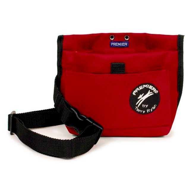 Premier Terry Ryan Dog Training Obedience Treat Pouch RED