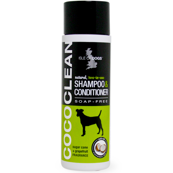 Isle Of Dogs Dog Shampoo and Conditioner (Soap Free) Sugar cane and grape juice fragrance …