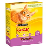 Go-Cat Adult Dry Cat Food Chicken and Duck