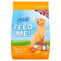 Hi Life Feed Me! Turkey & Chicken