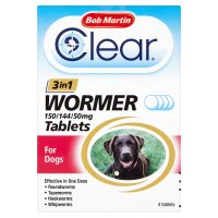 Bob Martin 3in1 dewormer for dogs