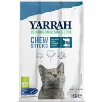 Yarrah Organic Chew Sticks with Fish - 15g Beef with Fish