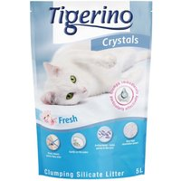 Tigerino Crystals Fresh – Clumping Cat Litter - 5 litre