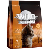Wild Freedom Adult Dry Cat Food Mixed Pack - 3 x 400g: Poultry, Salmon & Duck