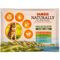 IAMS Naturally Cat Adult Mix - 12 x 85g
