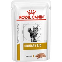 Royal Canin Veterinary Diet Cat – Urinary S/O LP 34 Loaf in Sauce - 12 x 85g