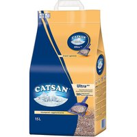 Catsan Ultra Clumping Cat Litter - 15l