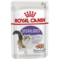 Royal Canin Sterilised Loaf - 12 x 85g