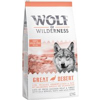 "Wolf of Wilderness Adult ""Great Desert"" - Turkey - 12kg"