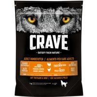 Crave Adult Turkey & Chicken Dry Dog Food - 1kg