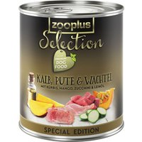 zooplus Selection Adult Veal, Turkey & Quail Special Edition - 6 x 800g