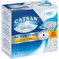 Catsan Active Fresh Clumping Litter - 8l