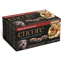 Encore Dog Tin Chicken Selection - 5 x 156g