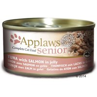 Applaws Senior Cat Food 70g - Senior Tuna with Salmon 24 x 70g