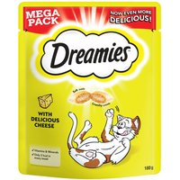 Big Pack Dreamies Cat Treats 180g - Cheese