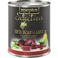 zooplus Selection Saver Pack 24 x 800g - Senior & Light Chicken