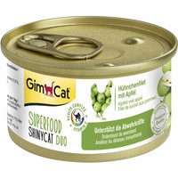 GimCat Superfood ShinyCat Duo 6 x 70g - Tuna Fillet with Tomato