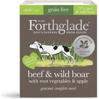 Forthglade Gourmet Grain-Free - Beef & Wild Boar with Root Veg & Apple - 7 x 395g