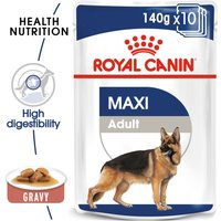 Royal Canin Wet Maxi Adult - 10 x 140g