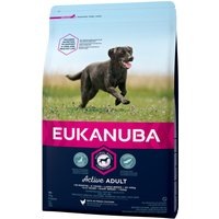 Eukanuba Dog Food Economy Packs - Active Adult Large Breed Chicken: 2 x 15kg