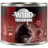 Wild Freedom Adult 6 x 200g - Mixed Pack