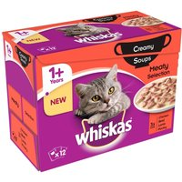 Whiskas 1+ Creamy Soup Classic Selection - 48 x 85g