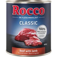Rocco Classic 6 x 800g - Beef with Chicken