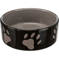 Trixie Ceramic Bowl with Paw Prints - 0.3 litre