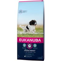 Eukanuba Active Adult Medium Breed - Chicken - 15kg