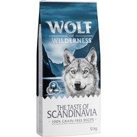 "Wolf of Wilderness ""The Taste of Scandinavia"" - Economy Pack 2 x 12kg"