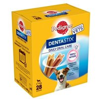 28 Stick Pedigree Denta Stix For Small Dogs
