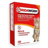 Ridaworm 2 Tablets For Cats
