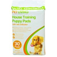 Pet Living House Training Puppy Pads With Wet Indicator