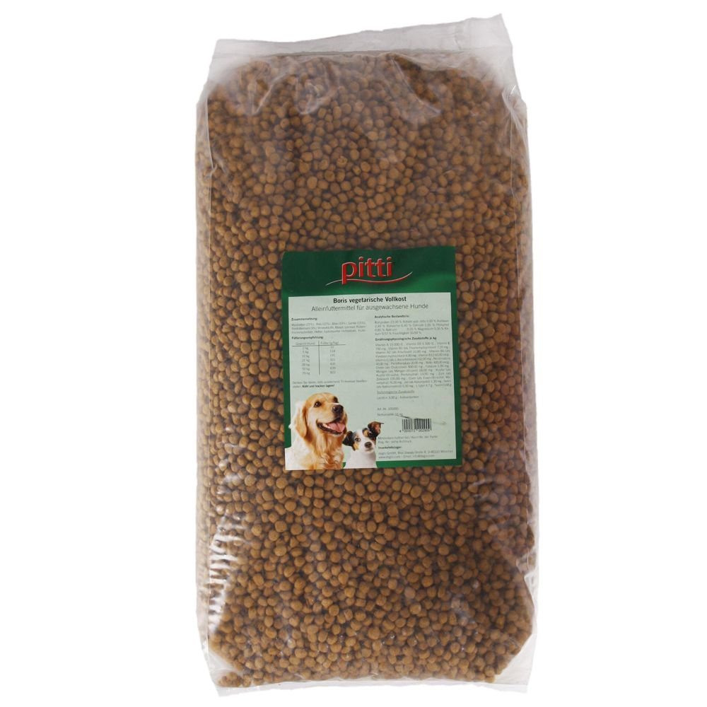 Pitti Boris Vegetarian Complete Meal - Economy Pack: 2 x 15kg