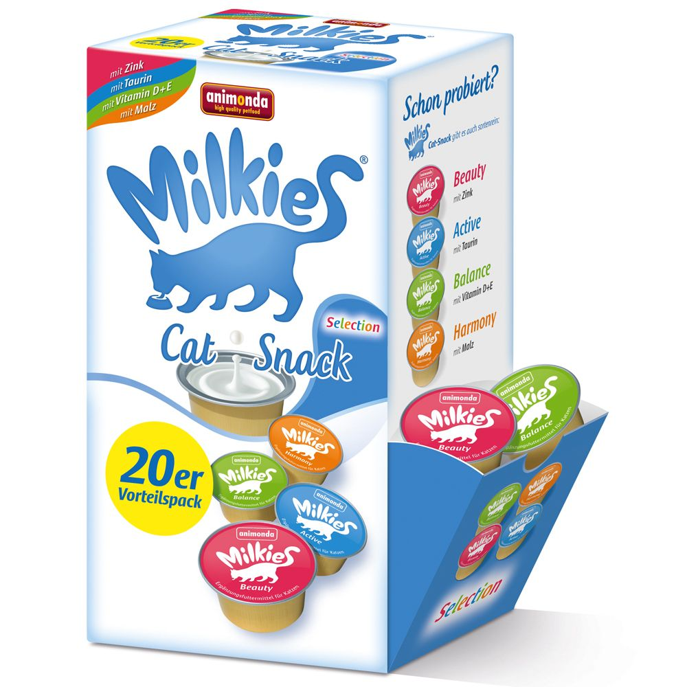 Animonda Milkies Mixed Pack - Mixed Pack I: 20 x 15g