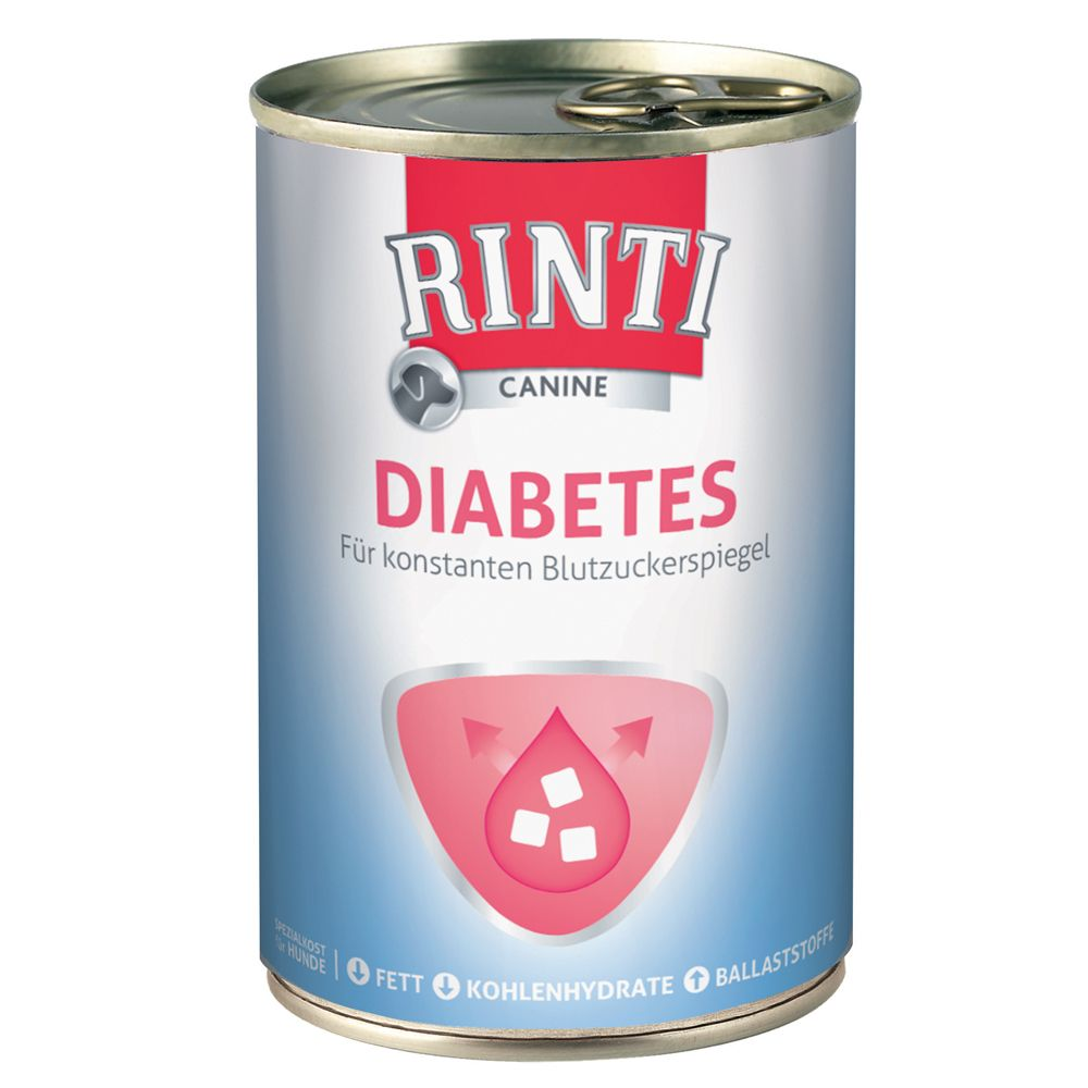 Rinti Canine Diabetes - 6 x 400g