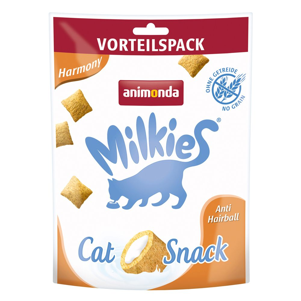Animonda Milkies Harmony Anti Hairball Crunch Bag - 120g