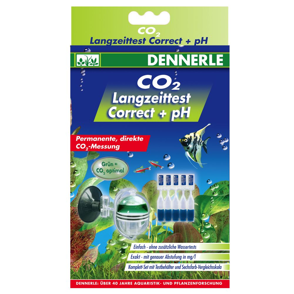 Dennerle CO2 long-term test Correct + pH - 1 set