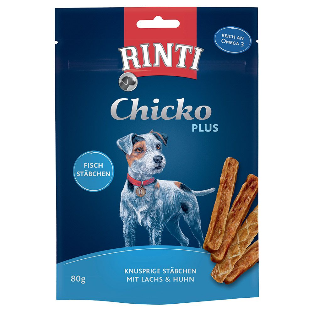 RINTI Extra Chicko Plus Fish Sticks - 80g