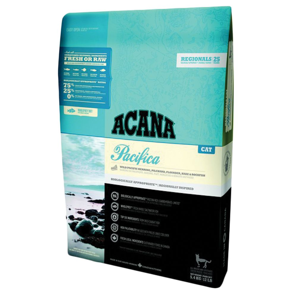Acana Regionals Pacifica Dry Cat Food - Economy Pack: 2 x 5.4kg