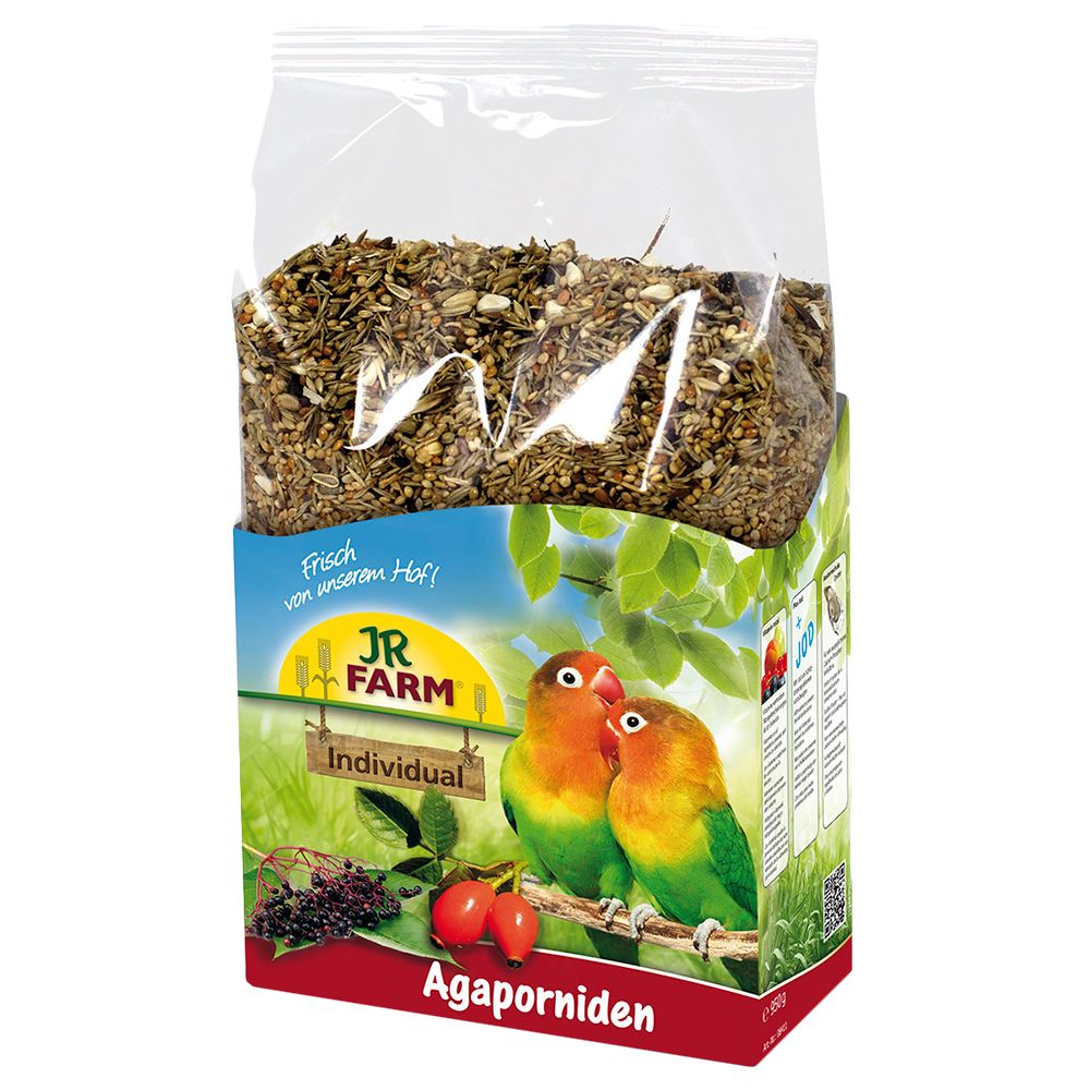 JR Birds Individual Lovebird/African Parrot Food - Economy Pack: 2 x 1kg