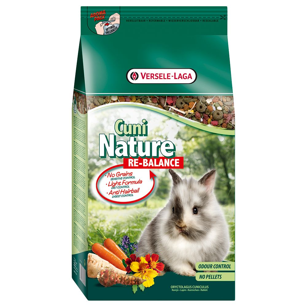 Cuni Nature Re-Balance Rabbit Food - 2.5kg